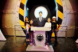 with Tony Stark