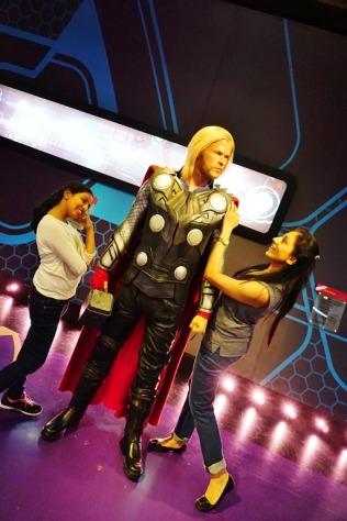 Saw Thor(Chris H) just a few days back!!