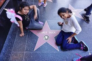 We saw him in Disney