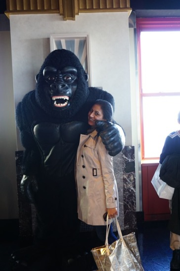 with the mighty King Kong
