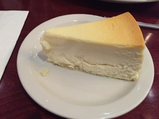 New York Baked Cheesecake @ Juniors on 45th