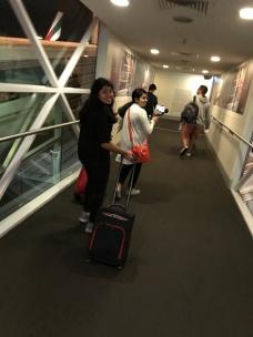 Yeah, boarding time